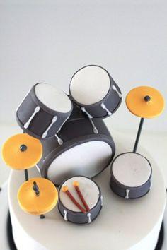 Leckere Musik Torten trommel drums