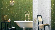 Designline Bad - Produkte: Bisazza, Miscele Oro - Wand und Boden