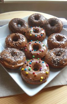 Nutella Donuts - baked perfection!