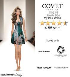 Spring 2016 Runway Show @covetfashion #covet #covetfashion #covetfashionapp #fashion #covetfall2015 #fall2015 #womensfashion #BCBGMAXAZRIA #YigalAzrouel #AshleyPittman #MayaJewelry