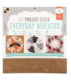 """DCWV 12""""x12"""" DIY Project Stack: Everyday Wreaths"""