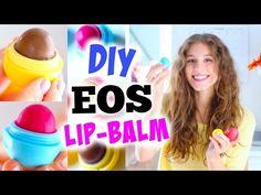 DIY EOS LIP-BALM ♡ mit Nutella, getönt oder Pfefferminze! BarbieLovesLipsticks…