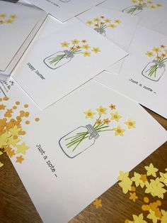 Spring flowers Papercut and embellished in ink stamped vase Ink Stamps, Blank Cards, Greeting Cards Handmade, Spring Flowers, Paper Cutting, Notes, Vase, Unique, Hand Made Greeting Cards