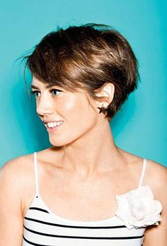 35 New Short Haircut Styles | http://www.short-hairstyles.co/35-new-short-haircut-styles.html More