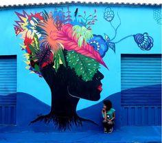 Criola: beleza, ativismo e empoderamento na arte e através dela
