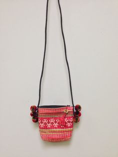 Chinese Hmong Hill tribe Embroidered Purse by WorldofBacara on Etsy $33.00