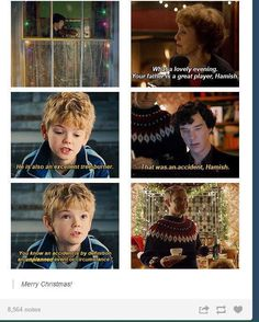 .@Sherlockspam Christmas Parentlock (Funny, except the kid's name is Oliver. See http://archiveofourown.org/works/729134/chapters/1354275 for further information)