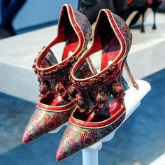 manolo blahnik fall/winter 2014-2015 collection
