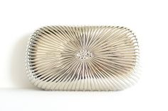Silver Clutch by auntemilie on Etsy