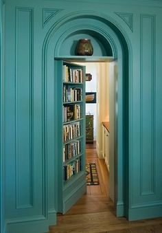Secret passages are a must, especially if they lead to libraries :)