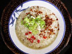 Lugaw (Filipino-style Rice Congee)