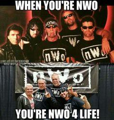 - wwe & wwf News Wrestling Memes, Wrestling Divas, Wwe Funny, Kevin Nash, Wwe Wallpapers, Professional Wrestling, Childhood Memories, Scott Hall