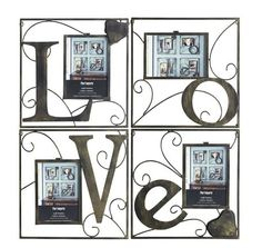 LOVE Metal Wall Frames- Set of 4 on sale at Pier 1 Imports - Multiple Locations