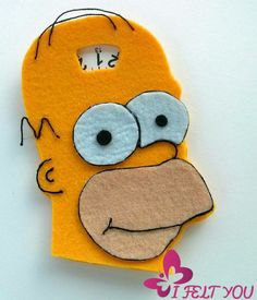 Homer Simpson disco orario.. accessori auto regalo