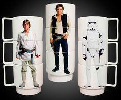 Tazas Star Wars Intercambiables - Regalo Molón
