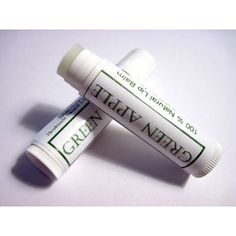 White glossy inkjet labels for .15 oz lip balm tubes.