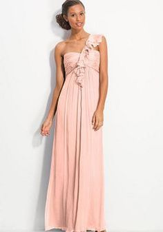 Chiffon One Shoulder Empire A-line Ruching Long Evening Dress Party Dresses 2014, Prom Dresses Uk, New Wedding Dresses, Occasion Dresses, Dresses Online, Ball Dresses, Long Dresses, Cheap Dresses, Ball Gowns