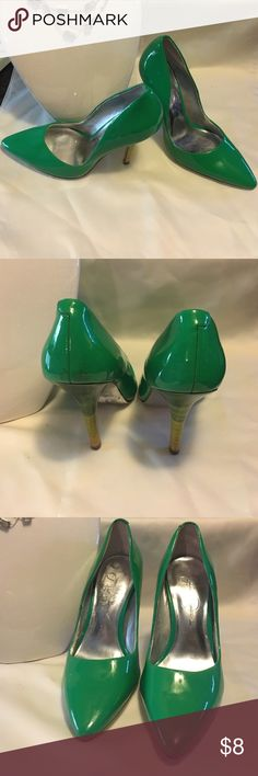 Jessica Simpson heels Super cute multi colored heel! Fun & Sassy! Size 5.5 B JS Vanity Jessica Simpson Shoes Heels