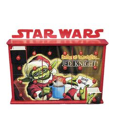 Look at this Star Wars Yoda Advent Calendar on #zulily today!