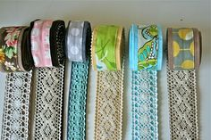 lace belts to make