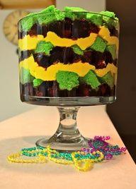 Mardi Gras Trifle (W