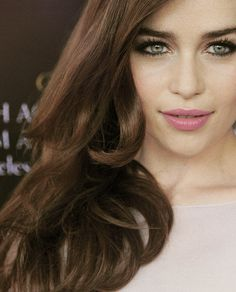 Emilia Clarke  she is gorgeous