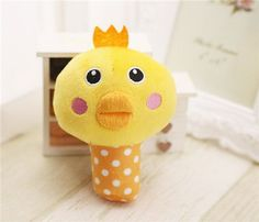 Cute Animal Designs Dog Toys Pet Puppy Chew Squeaker Squeak Plush Sound Toy For Small Dogs Cats Yorkie Pet Products - 6 Styles