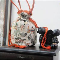 kantha work batua bag