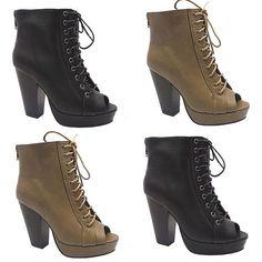 Laced peep toe booties $29.99  arriving Thursday ! #peeptoe #booties #opentoe #heels #pumps #thickheels #newarrivals #shoesonpoint #shoesonfleek #shoegame