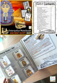 Ancient Egypt - Social Studies Interactive Journal!