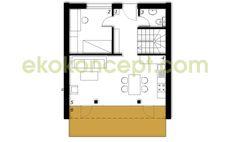 Ground floor Prefabricated house ek 031