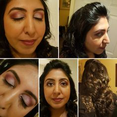 Makeup client for today! Party look with loose curls Loose Curls, Party Looks, Models, Business, Makeup, Hair, Templates, Make Up, Wavy Hair