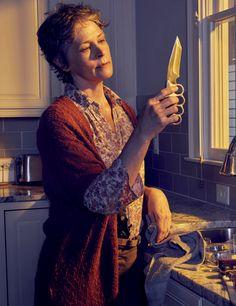 New 'The Walking Dead' Season 6 Portrait of Melissa McBride as Carol Peletier