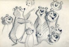 ‪Design sketches (and a model sheet) for Hanna-Barbera's Yogi Bear. The character debuted in 1958 in the Huckleberry Hound Show. Character Design Tutorial, Character Design Animation, Character Design References, Character Design Inspiration, Mascot Design, Bear Design, Animal Design, Logo Design, Character Model Sheet