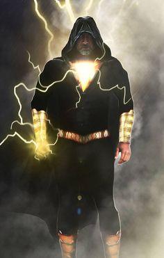 Dwayne 'The Rock' Johnson Black Adam, a movie based on the Anti Superhero and arch-nemesis of Shazam.Black Adam is releaseiing on Dec. Dc Comics Characters, Dc Comics Art, Comic Villains, Rock Johnson, Dwayne Johnson, Comic Books Art, Comic Art, Armadura Do Batman, Black Adam