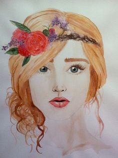Custom Watercolor Fashion Illustration by SilverFoxFinery on Etsy