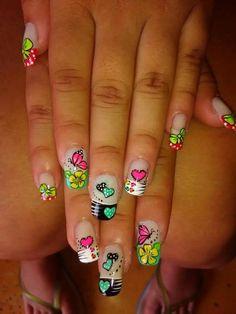 Viviana Manicure, Nails, Finger, Nail Designs, Nail Art, Candy, Triangles, Beauty, Ideas
