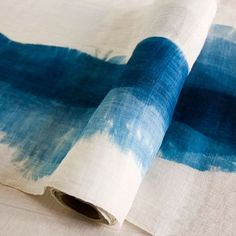 Blue Dye - Possibly create a table runner like this?