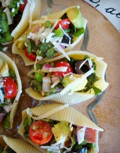 Salad stuffed Shells