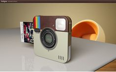 Interesting concept - Instagram social plus instant camera