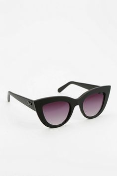 Quay Kittie Cat-Eye Sunglasses #urbanoutfitters #Anthropologie #Pintowin