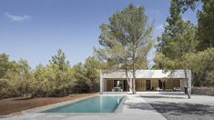 Ca l'Amo - Marià Castelló · Architecture Building Process, Tiny House, Farm House, Minimal Apartment, Hotel Ibiza, Spanish Islands, Wooded Landscaping, Journal Du Design, New Architecture