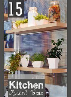 15 Kitchen Accent Ideas