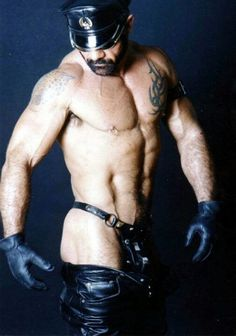 Hell bent for leather! Grrr...