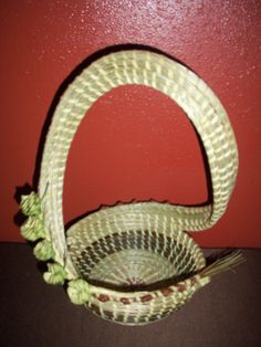 Sweetgrass Roses S Handle Basket by SweetgrassBasketry
