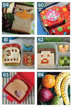 Super Creative School Lunch Ideas