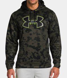 64e506eac8e Men s UA Storm Armour® Fleece Printed Big Logo Hoodie