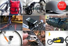 Tools, gadgets and accessories for bike commuting.