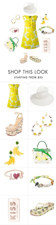 """""""Snap this"""" by camry-brynn ❤ liked on Polyvore featuring Boutique Moschino, Gigi Burris Millinery, Charlotte Olympia, Venessa Arizaga, Mercedes Salazar, Dolce&Gabbana, Sydney Evan, Kate Spade and Tory Burch"""