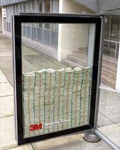 Publicidade à 3M Security Glass   Veja mais em: http://www.jacaesta.com/?p=116
